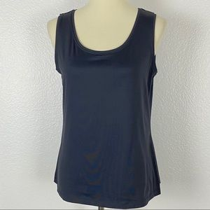 212 Collection Black Tank Top
